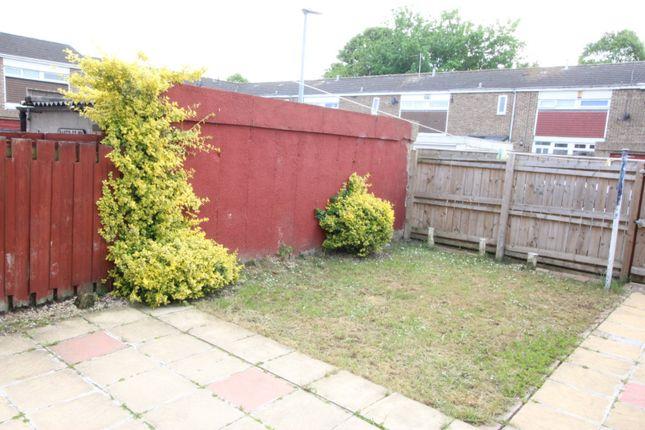 Garden of Bisley Grove, Bransholme, Hull, East Yorkshire HU7