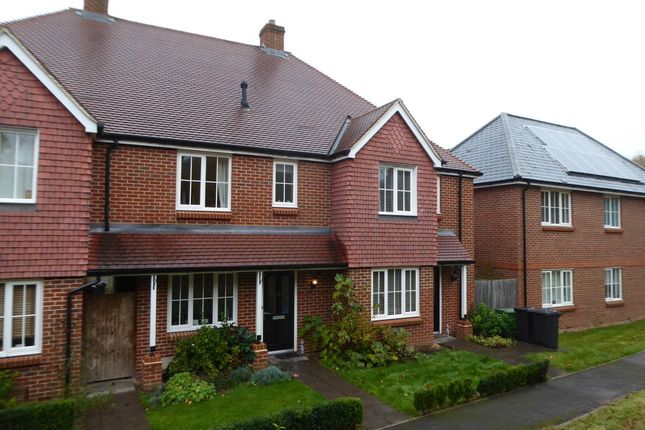 Thumbnail Terraced house to rent in Old Common Way, Uckfield