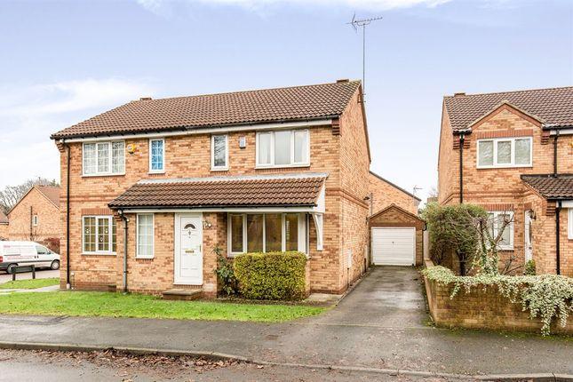 Thumbnail Semi-detached house for sale in Eastland Walk, Leeds