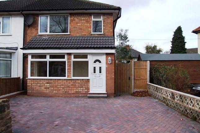 Thumbnail Semi-detached house to rent in Fox Green Crescent, Acocks Green, Birmingham