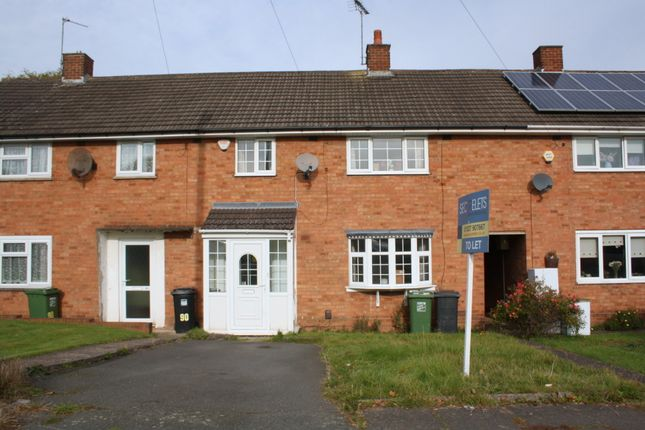Thumbnail Terraced house to rent in Greenlands Avenue, Redditch