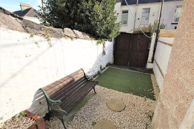 Garden of Beaumont Road, St Judes, Plymouth, Devon PL4