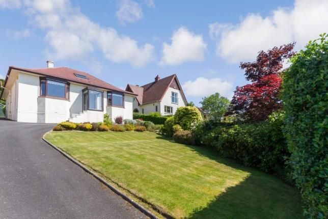 Thumbnail Bungalow for sale in Castlepark Drive, Fairlie, Largs, North Ayrshire