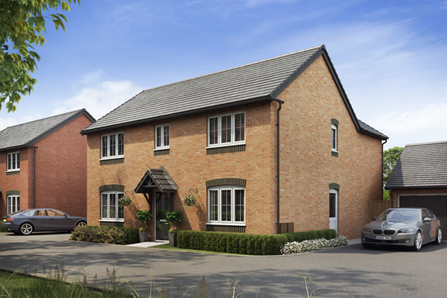 Thumbnail Detached house for sale in The Oak, Saxon Meadows, Off Main Road, Kempsey, Worcestershire