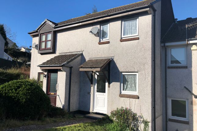 Thumbnail Terraced house to rent in Cedar Close, Torpoint