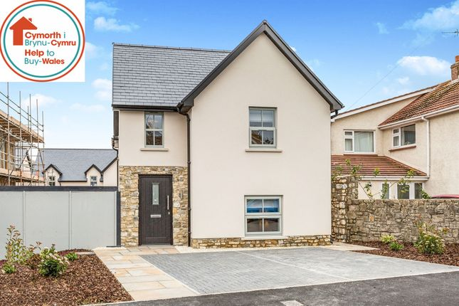 Thumbnail Detached house for sale in Rectory Drive, St. Athan, Barry