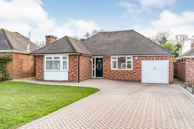 Thumbnail Detached bungalow for sale in Rownhams Close, Rownhams, Southampton