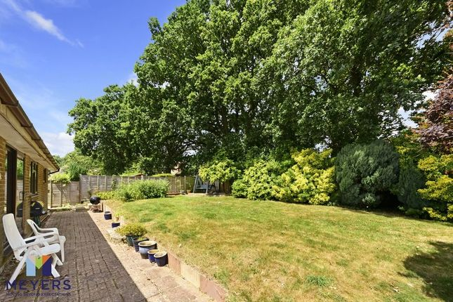 Rear Garden of Hawthorn Drive, Creekmoor, Poole BH17