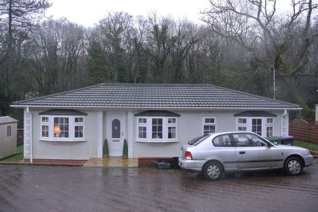 Thumbnail Mobile/park home for sale in Woodlands Park, Pontypool