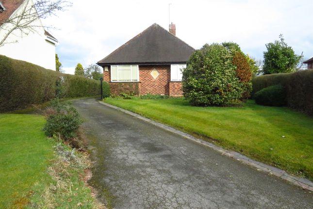 Thumbnail Detached bungalow for sale in Birmingham Road, Bordesley, Redditch