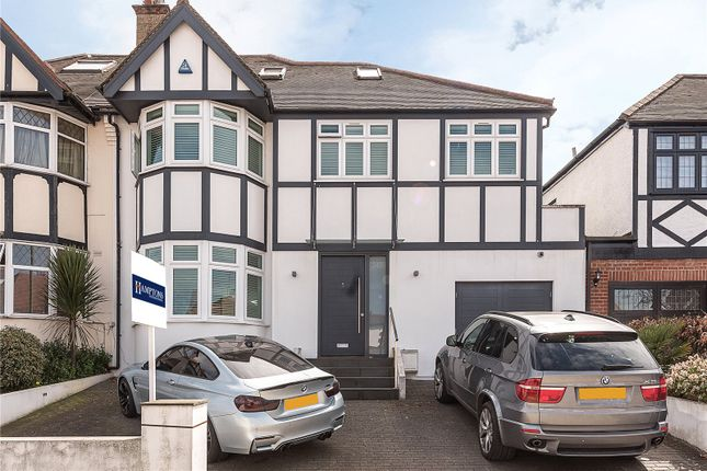 Thumbnail Semi-detached house for sale in Creighton Avenue, London