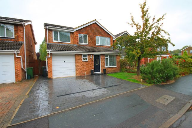 Thumbnail Detached house for sale in Melville Avenue, Frimley, Camberley