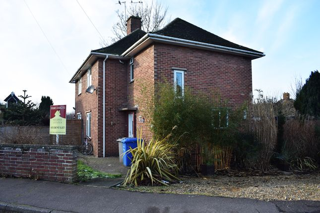Thumbnail Semi-detached house to rent in Cunningham Road, Norwich