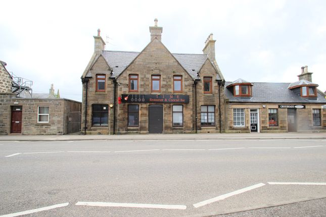 Thumbnail Commercial property for sale in West Church Street, Buckie