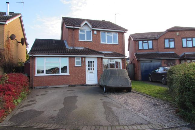 3 bed detached house for sale in Browns Way, Whetstone, Leicester