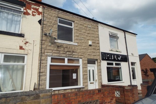 Thumbnail Terraced house to rent in Birding Street, Mansfield