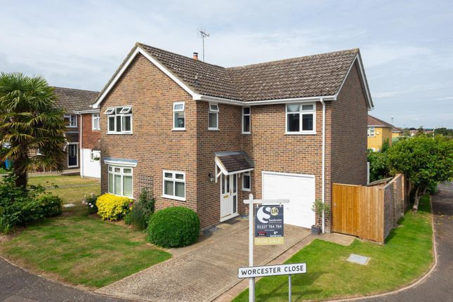 Thumbnail Detached house for sale in Worcester Close, Faversham