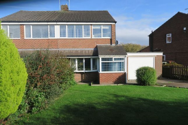 Thumbnail Semi-detached house for sale in Castle Ings Drive, New Farnley, Leeds