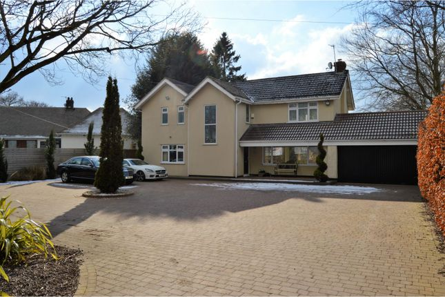 Thumbnail Detached house for sale in Chester Road, Heswall