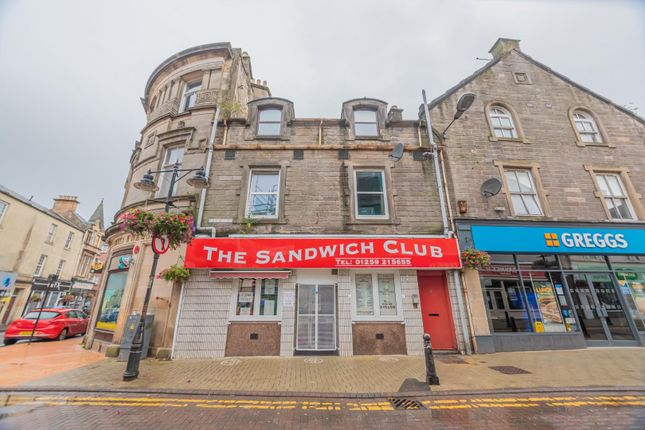 1 bed flat for sale in High Street, Alloa FK10