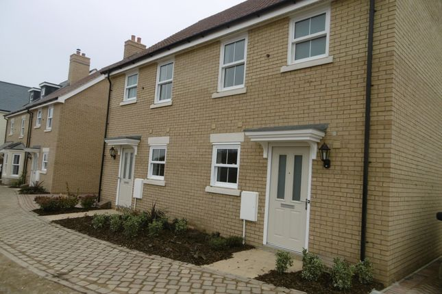 Thumbnail Semi-detached house to rent in Ellicott Grove, Biggleswade