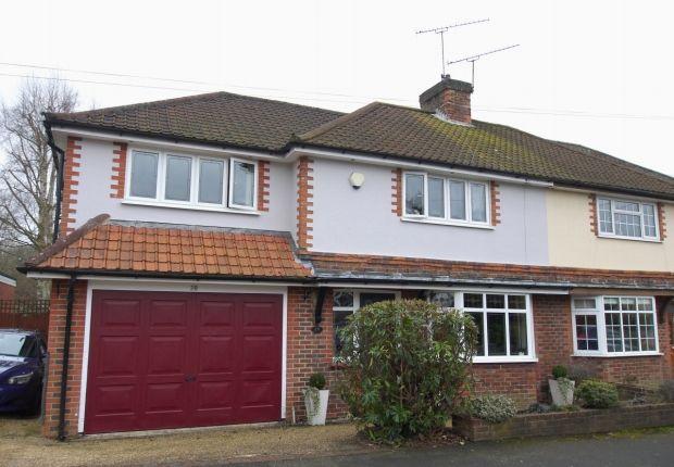 Thumbnail Semi-detached house for sale in Larkfield Road, Sevenoaks