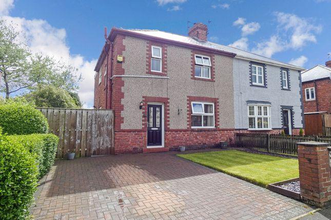 Thumbnail Semi-detached house for sale in Dilston Terrace, Jarrow