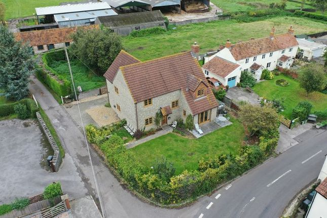 Thumbnail Detached house for sale in Catcott Road, Burtle, Bridgwater