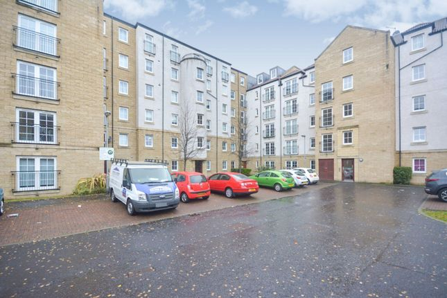 Rear View of Giles Street, Edinburgh EH6