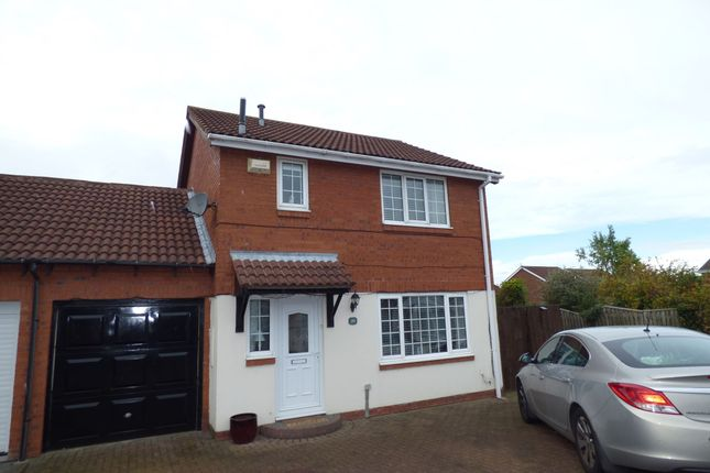 Thumbnail Detached house for sale in Valerian Court, Ashington