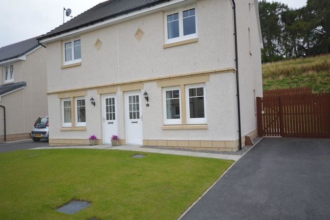 Thumbnail Semi-detached house to rent in Holly Gardens, Culduthel, Inverness