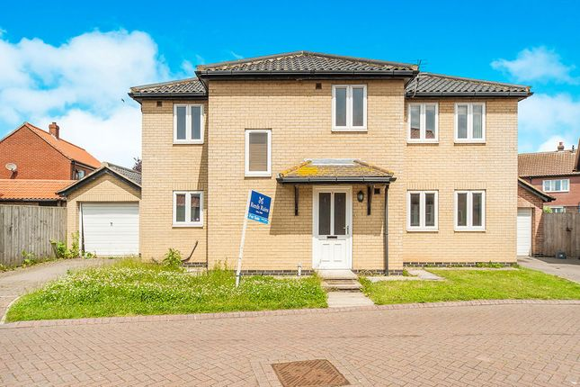 Thumbnail Detached house for sale in The Brambles Dimlington Road, Easington, Hull
