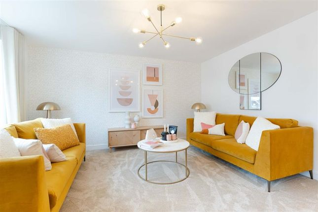 """Thumbnail Terraced house for sale in """"Plot 98 - The Byford"""" at Wear Barton Road, Exeter"""