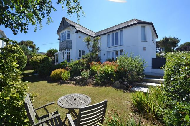 Thumbnail Detached house for sale in Seaward Side, Carbis Bay, Cornwall