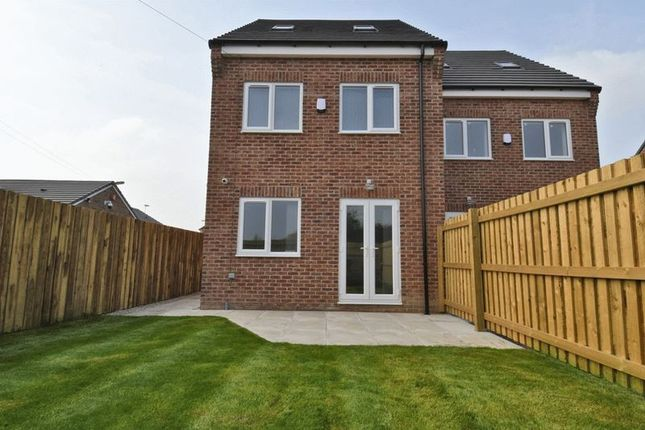 Thumbnail Semi-detached house to rent in Wakefield Road, Kinsley, Pontefract