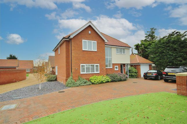 Thumbnail Detached house for sale in Frinton Road, Kirby Cross, Frinton-On-Sea