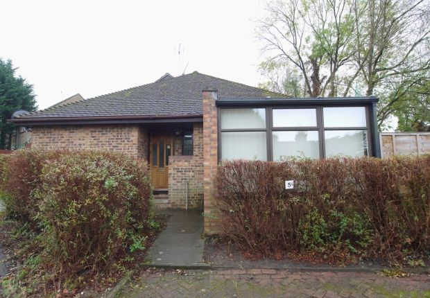 Thumbnail Terraced bungalow to rent in Church Field, Riverhead, Sevenoaks