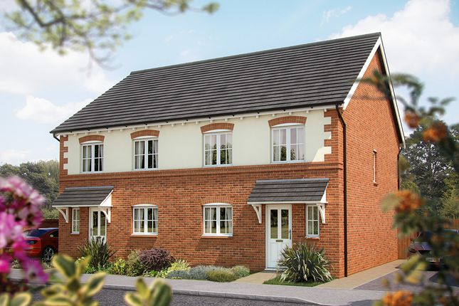 "Thumbnail Semi-detached house for sale in ""The Clarendon"" at The Poppies, Meadow Lane, Moulton, Northwich"