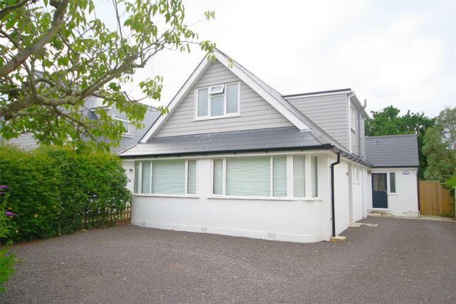 Thumbnail Detached house for sale in Mill Hill Close, Whitecliff, Poole, Dorset