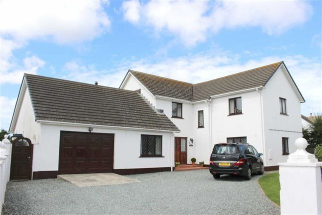 Thumbnail Detached house for sale in Herbrandston, Milford Haven