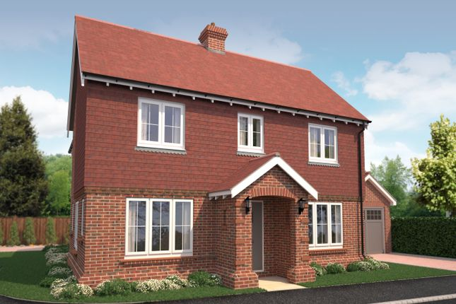 Thumbnail Detached house for sale in Wantley Hill Estate, Henfield