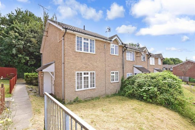Thumbnail End terrace house for sale in Rowan Lea, Chatham, Kent