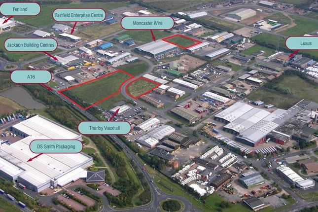 Thumbnail Warehouse for sale in St James' Park Fairfield Industrial Estate, Louth, Lincolnshire