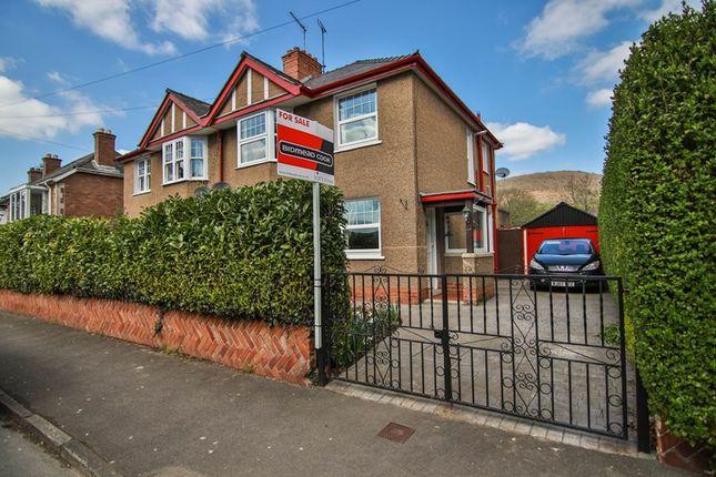 Thumbnail Semi-detached house for sale in Park Avenue, Abergavenny