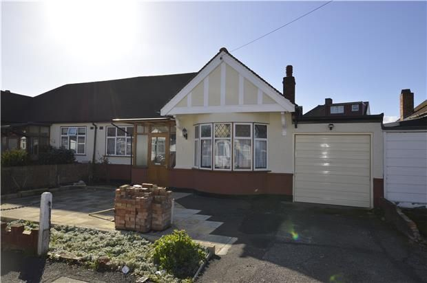 Thumbnail Terraced bungalow for sale in Hammond Avenue, Mitcham, Surrey