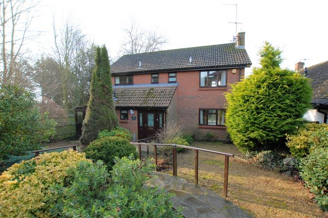 Thumbnail Detached house for sale in Spanton Crescent, Hythe