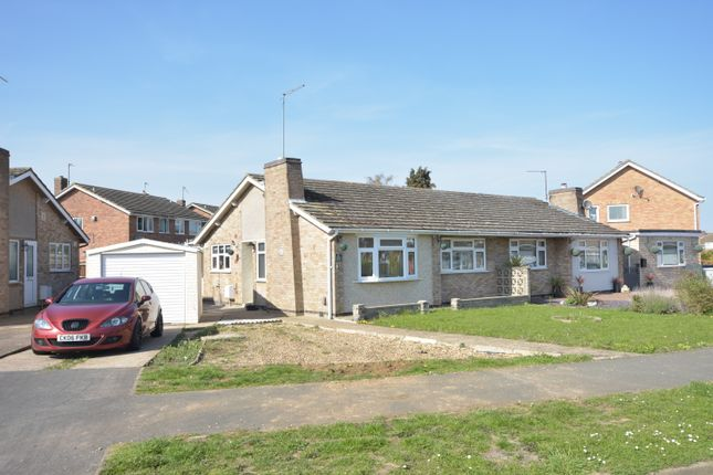 Thumbnail Semi-detached bungalow to rent in St. Saviours Road, Kettering