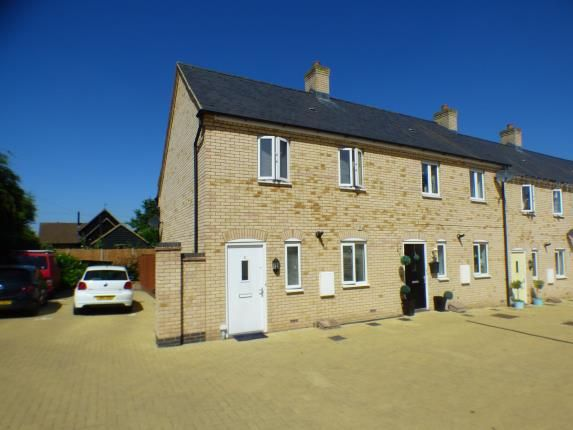 Thumbnail End terrace house for sale in The Conifers, Silsoe, Bedford, Bedfordshire