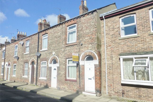 Thumbnail Terraced house for sale in Hanover Street West, York
