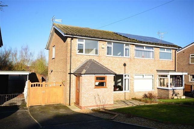 Thumbnail Semi-detached house for sale in Strelley Avenue, Ripley